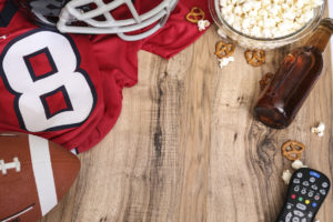 Football Watch Party: Comfort Concerns for Hosts